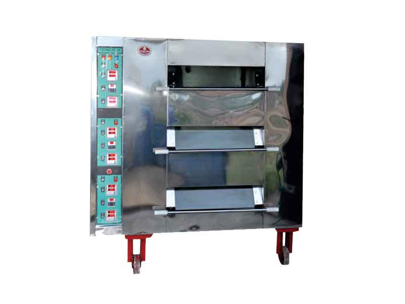Gas and Electric Double Deck Ovens